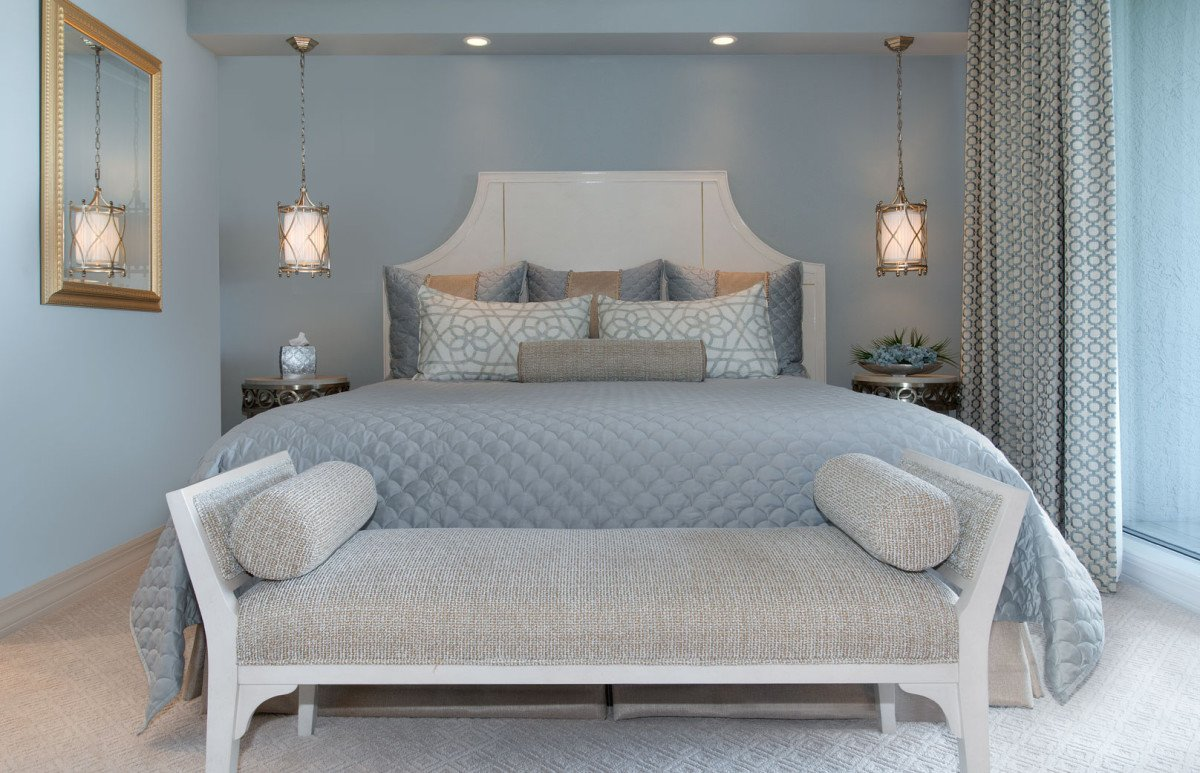 High Rise Hollywood - Guest Room by Wright Interior Group