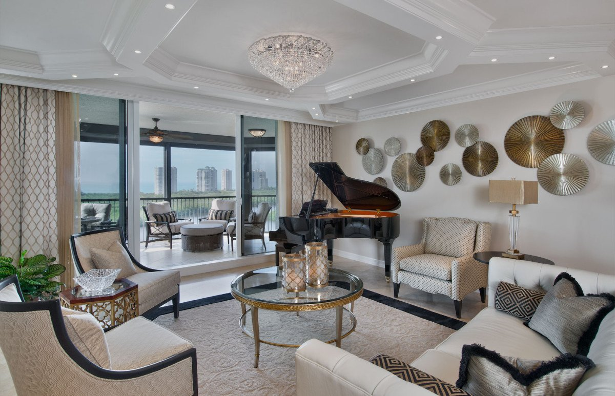 High Rise Hollywood - Grand Salon by Wright Interior Group