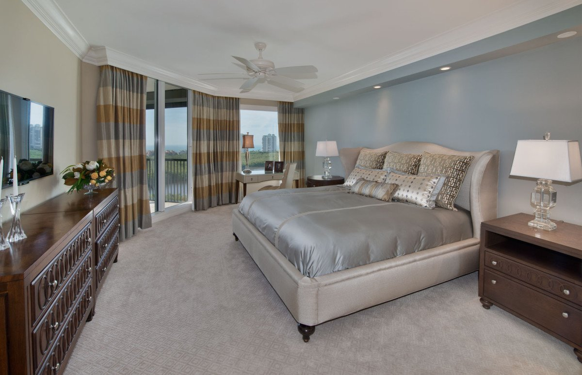 High Rise Hollywood - Master Bedroom by Wright Interior Group