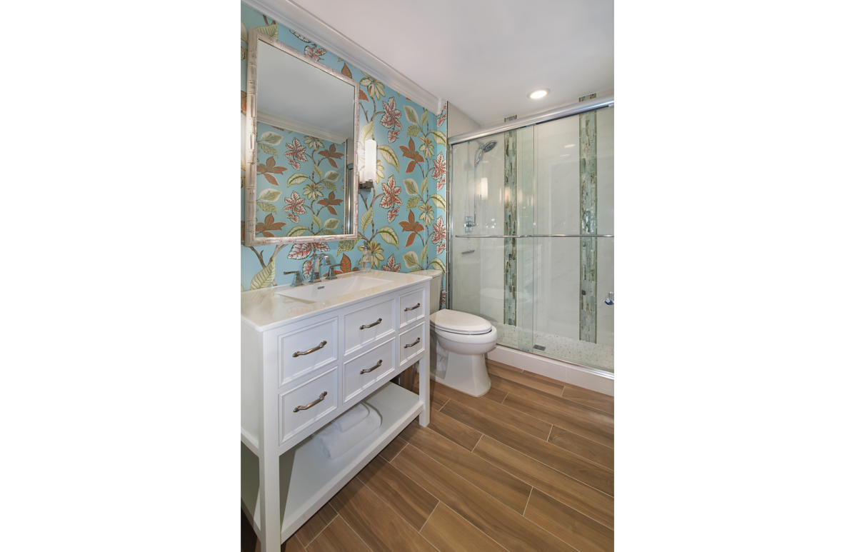 Colorful Contemporary - Bathroom by Wright Interior Group