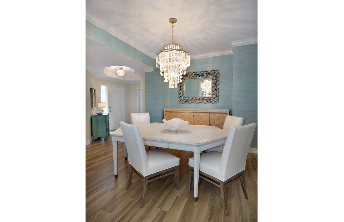 Colorful Contemporary - Dining Room by Wright Interior Group