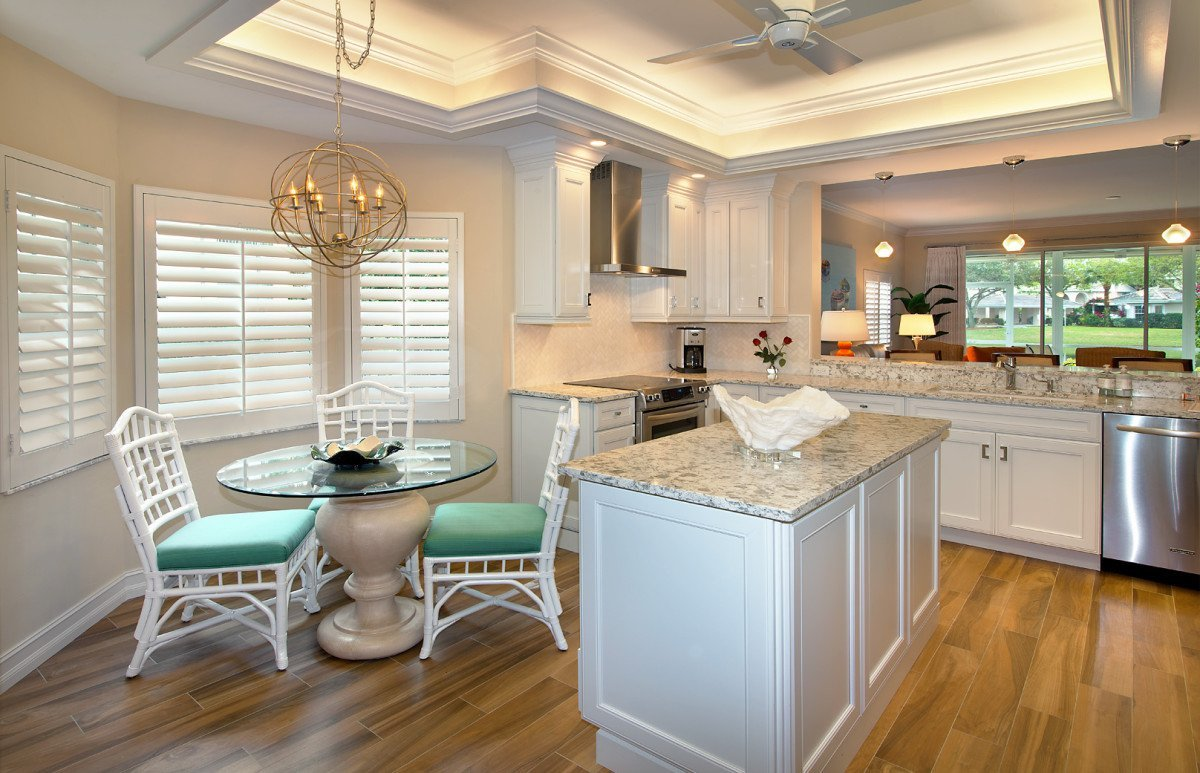 Colorful Contemporary - Kitchen by Wright Interior Group