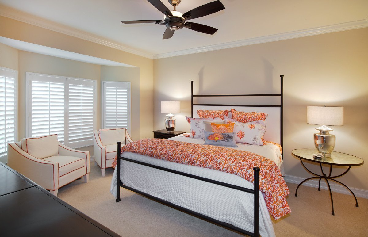 Colorful Contemporary - Master Bedroom by Wright Interior Group