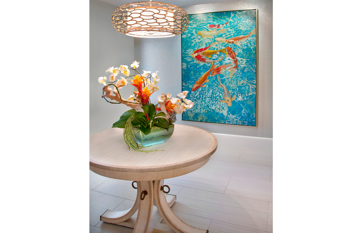Bayfront Beautiful - Entrance by Wright Interior Group