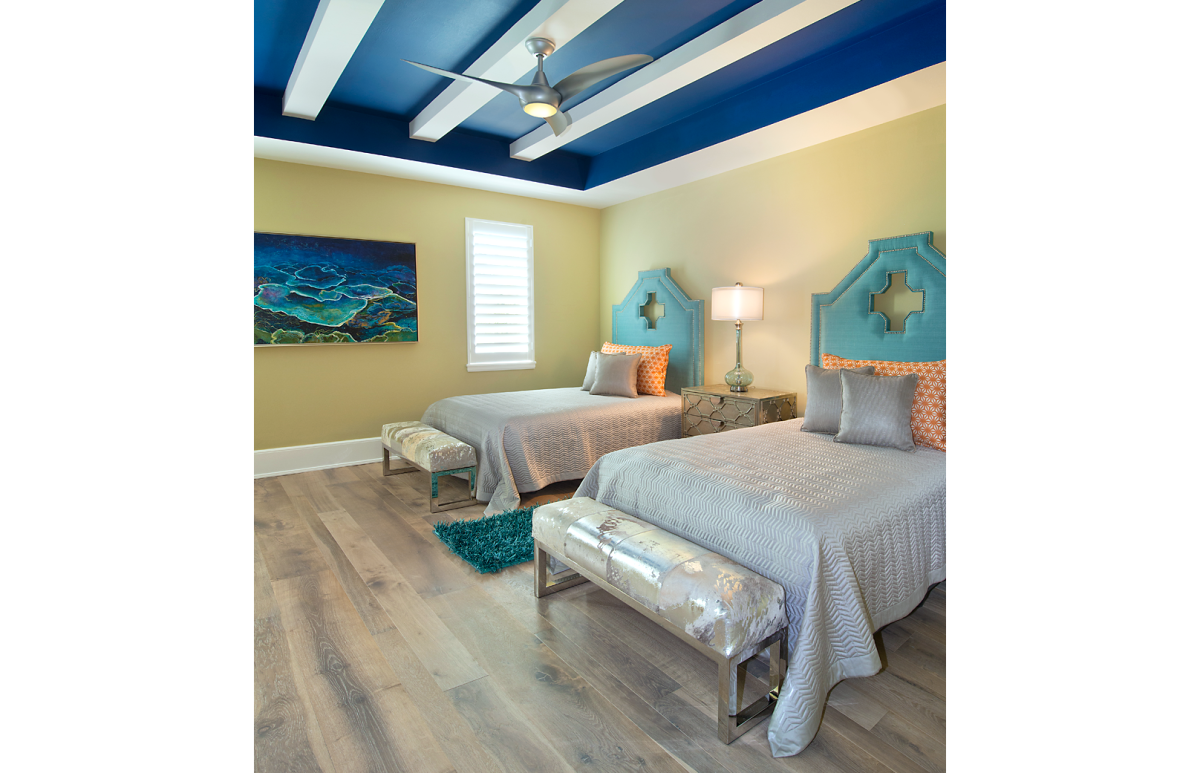 Bayfront Beautiful - Guest Bedroom by Wright Interior Group