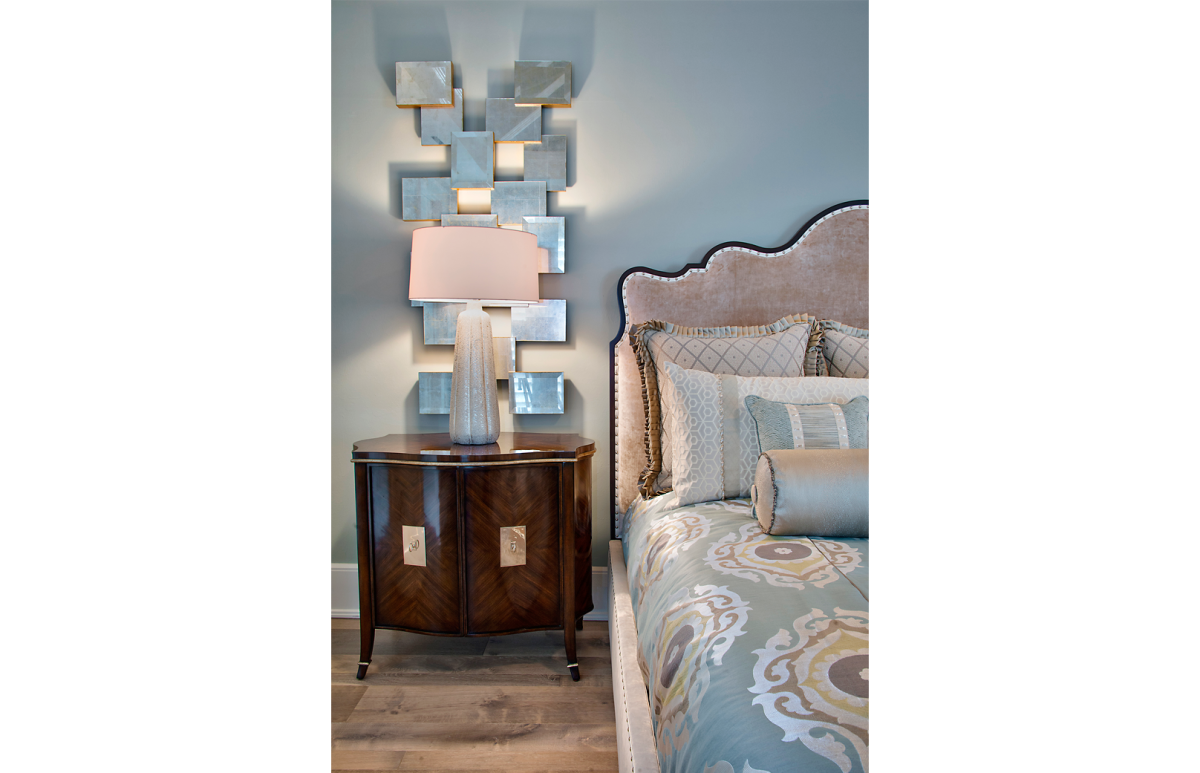 Bayfront Beautiful - Master Bedroom by Wright Interior Group