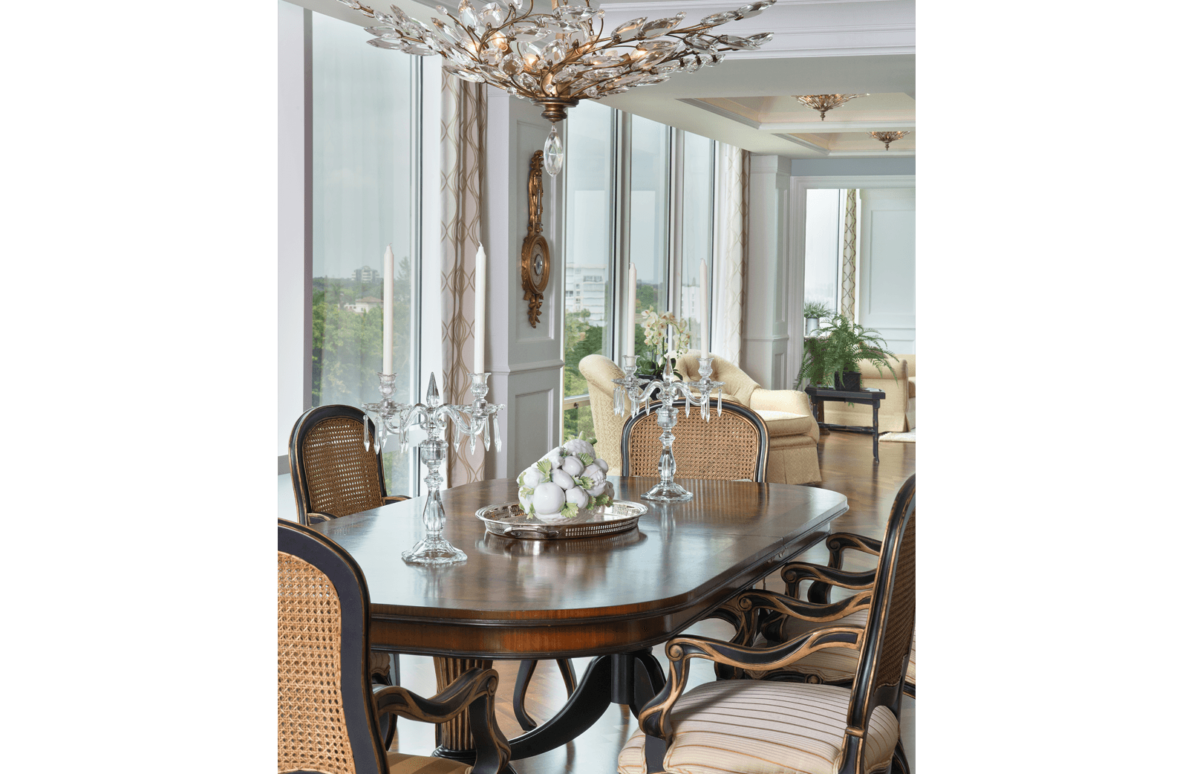 Elegance Refined - Dining Room by Wright Interior Group