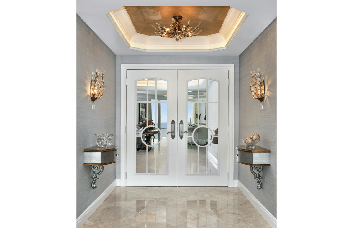 Elegance Refined - Foyer by Wright Interior Group