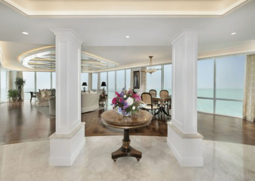 Elegance Refined - Great Room Foyer by Wright Interior Group