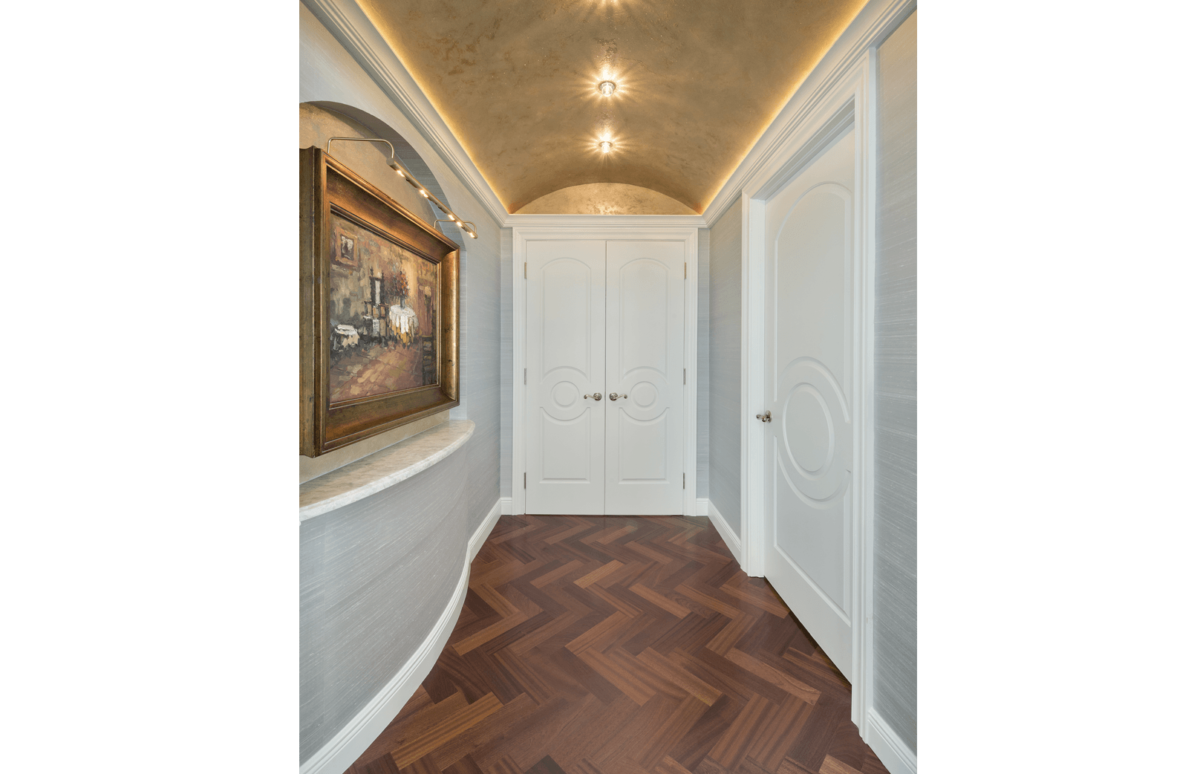 Elegance Refined - Hallway by Wright Interior Group