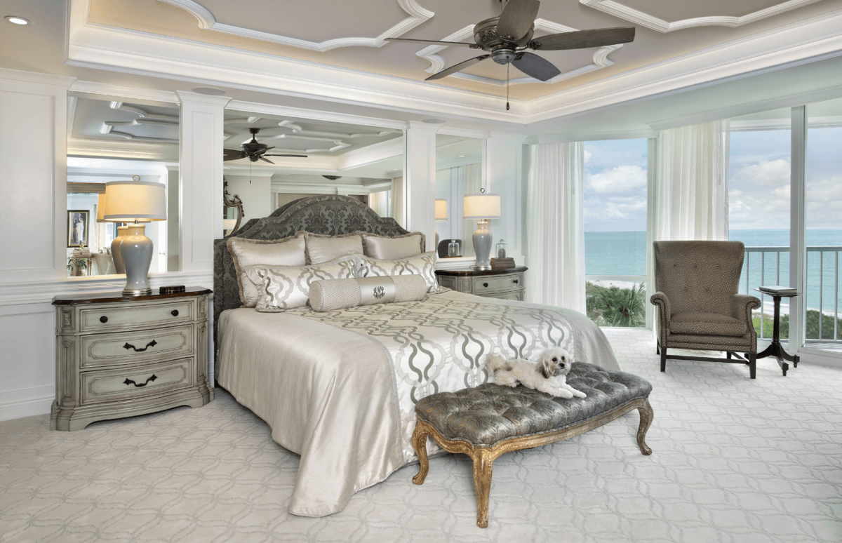 Elegance Refined - Master Bedroom by Wright Interior Group