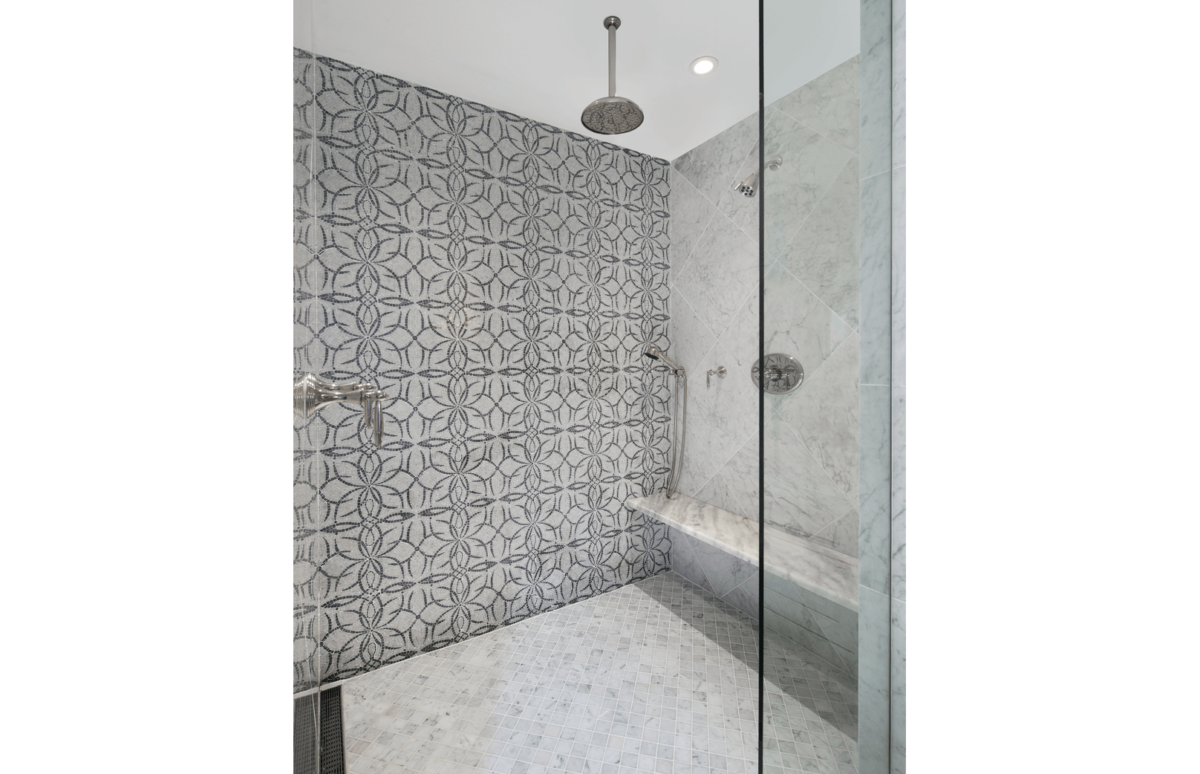 Elegance Refined - Master Shower by Wright Interior Group