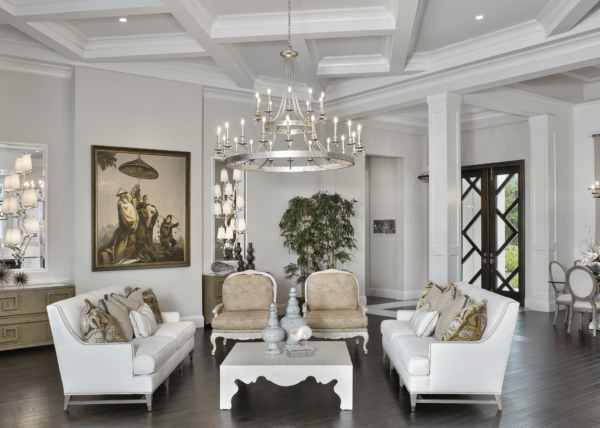 Golf Getaway - Living Room by Wright Interior Group