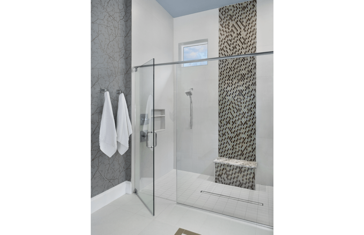 Golf Getaway - Master Bathroom by Wright Interior Group