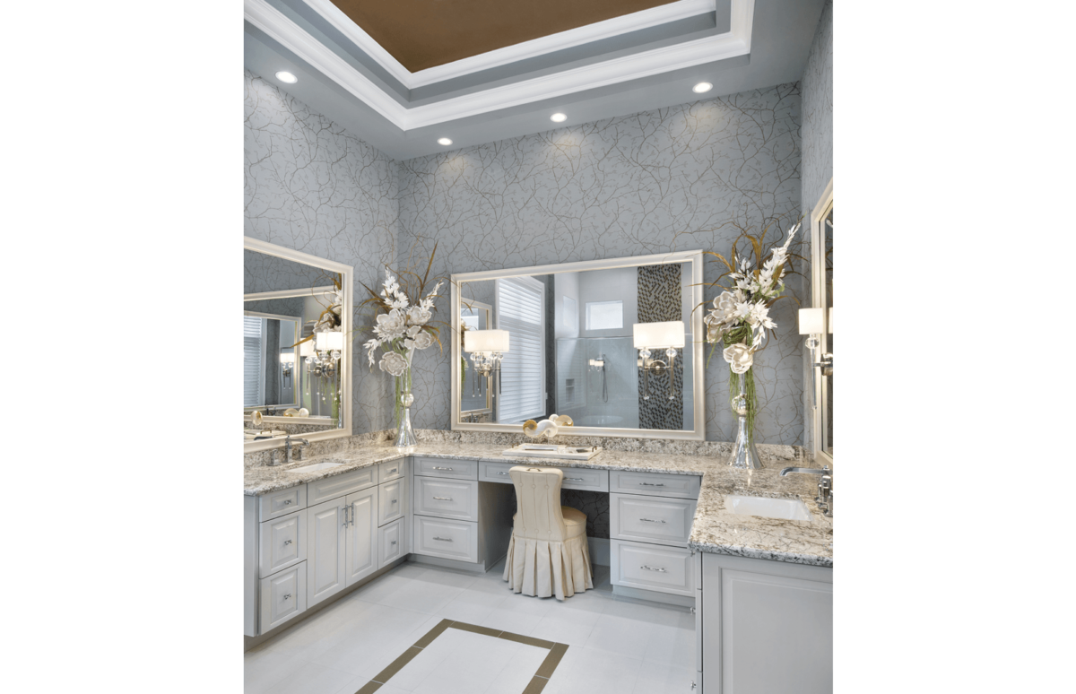 Golf Getaway - Master Bathroom Vanity by Wright Interior Group