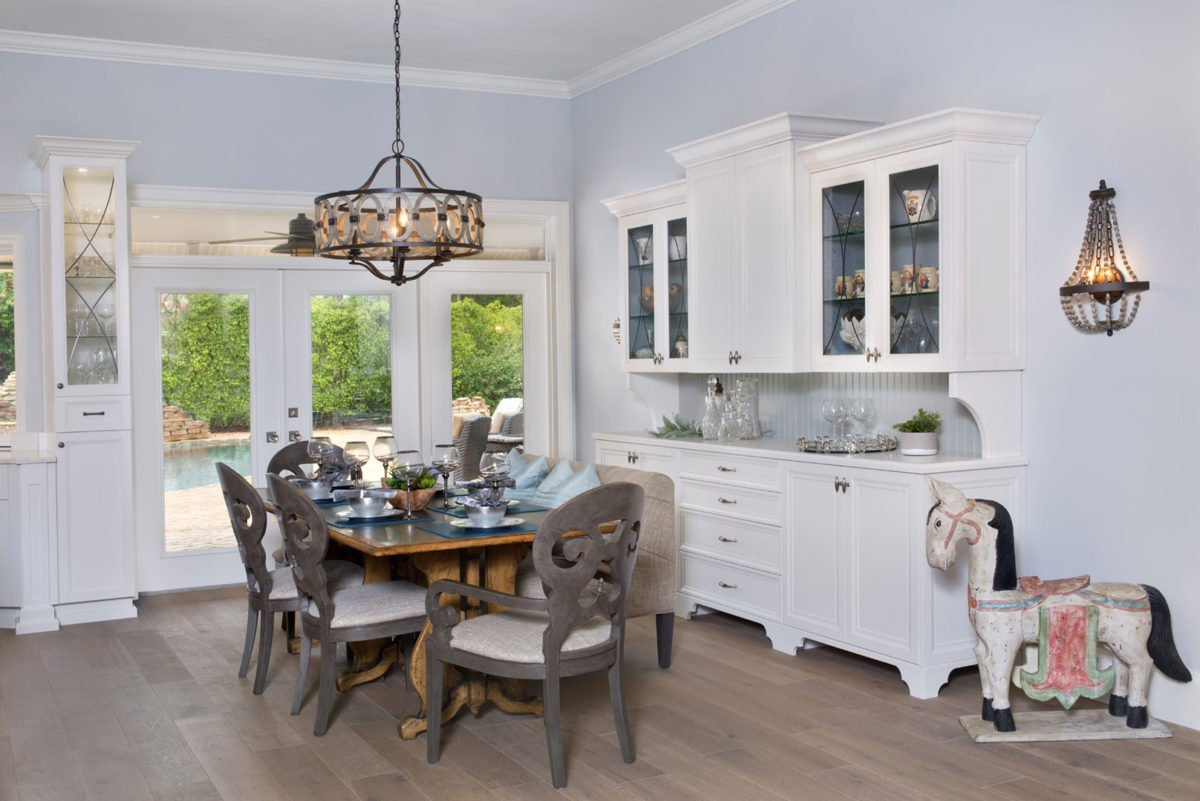 Farmhouse Flair - Dining Room by Wright Interior Group