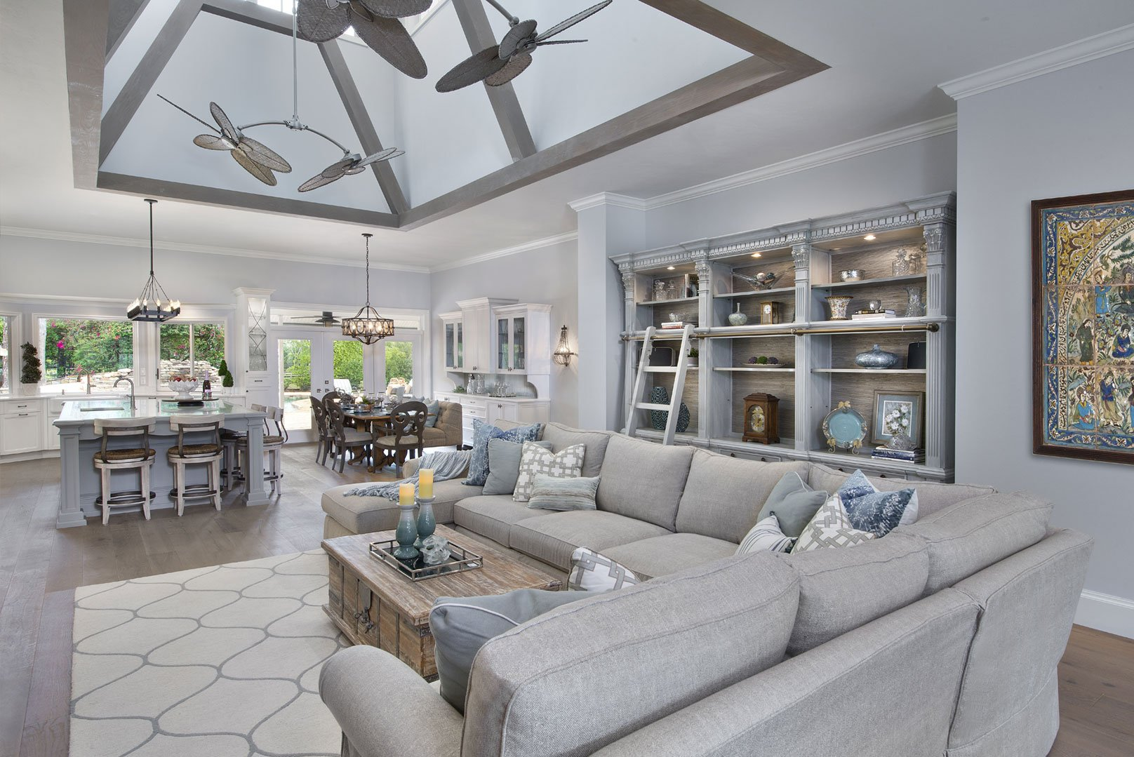 FarmhouseFlair-GreatRoom Redesigning A Master Bathroom on designing a master bathroom, renovating a master bathroom, redoing a master bathroom, organizing a master bathroom, remodeling a master bathroom, updating a master bathroom,