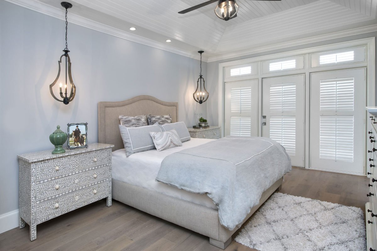 Farmhouse Flair Master Bedroom by Wright Interior Group