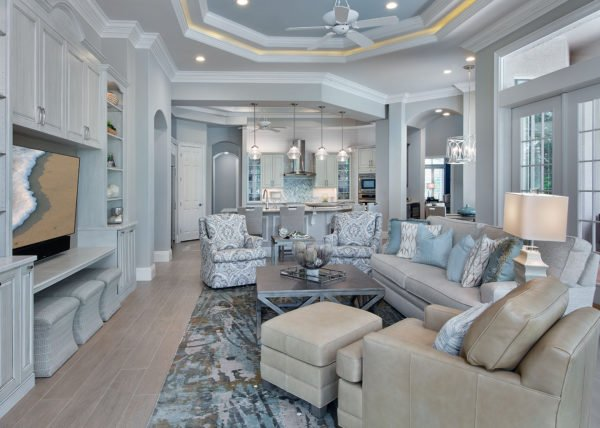 Nod To Nautical By Wright Interior Group In Naples Fl