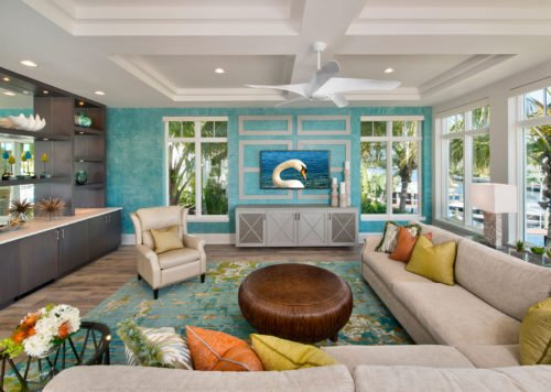 Bayfront Beautiful - Living Room by Wright Interior Group