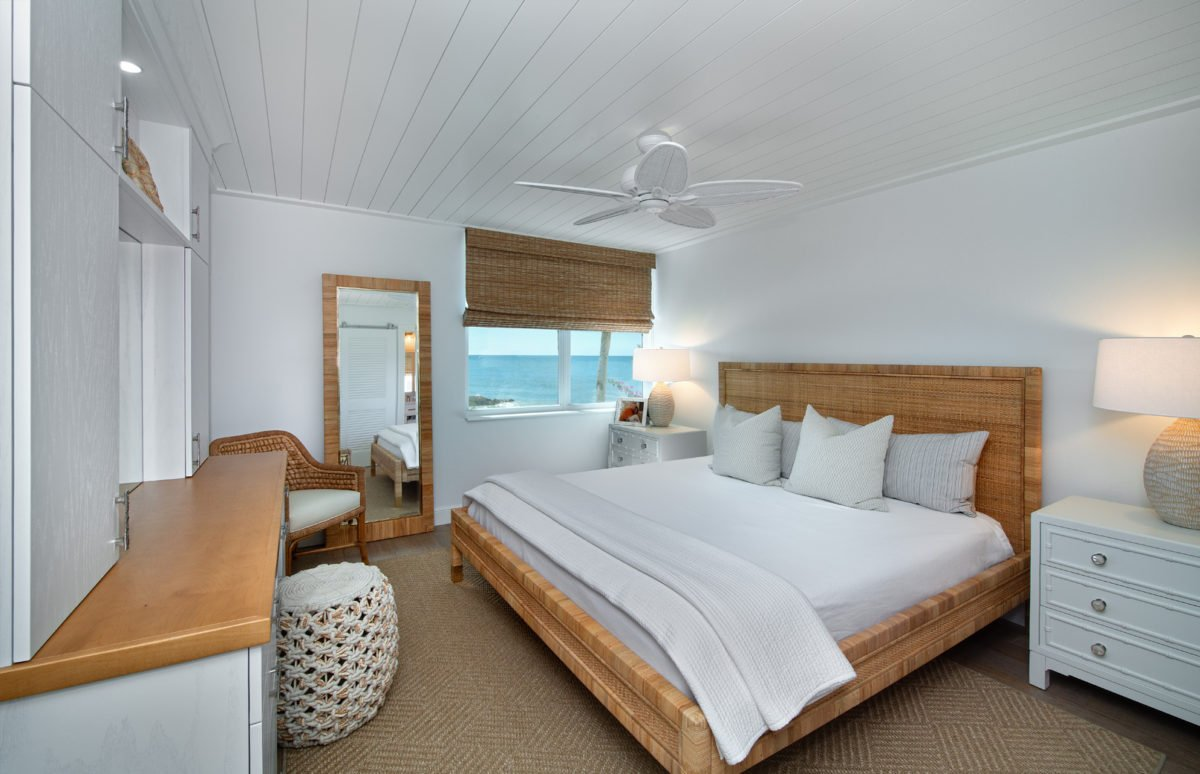 Beach Bungalow - Master Bedroom 1 by Wright Interior Group