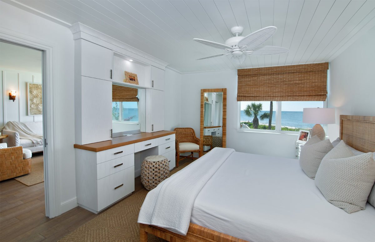 Beach Bungalow - Master Bedroom by Wright Interior Group
