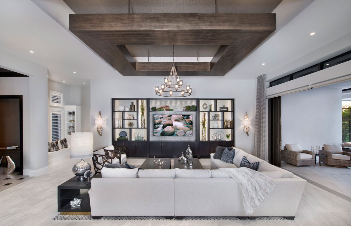 Neutral Ground - Living Room by Wright Interior Group