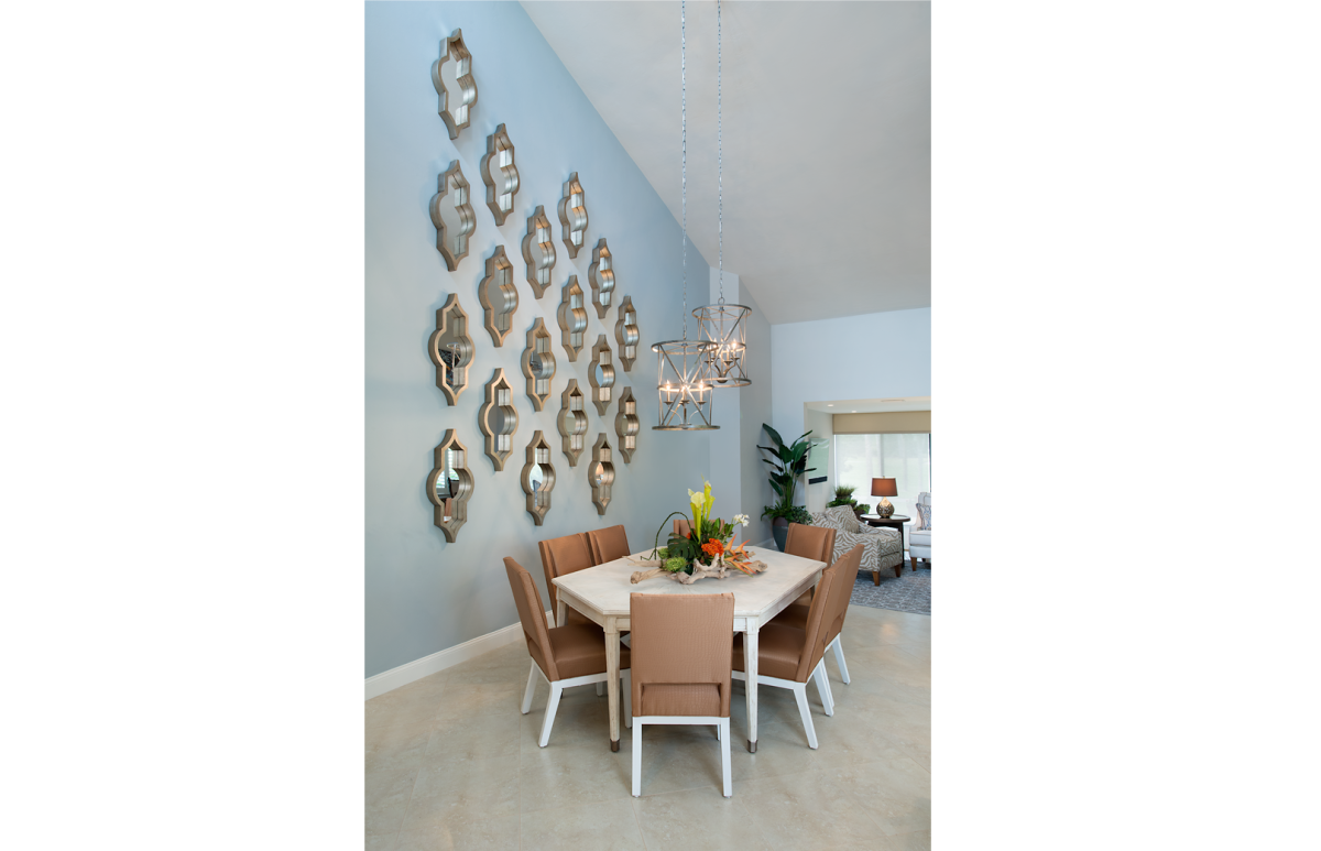 Moroccan Medley - Dining Room by Wright Interior Group