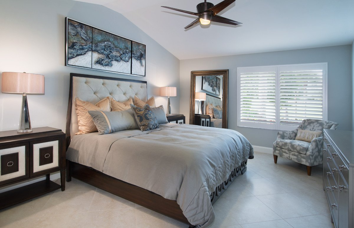 Moroccan Medley - Master Bedroom by Wright Interior Group