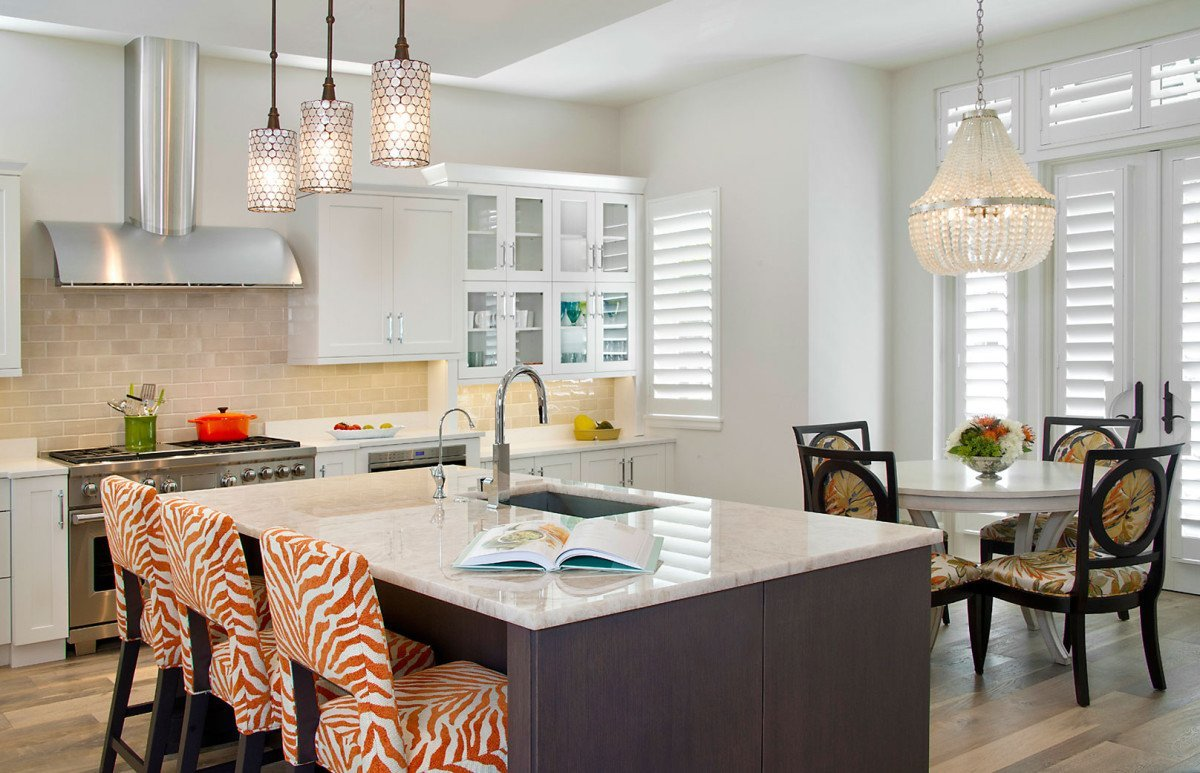 Bayfront Beautiful - Kitchen by Wright Interior Group
