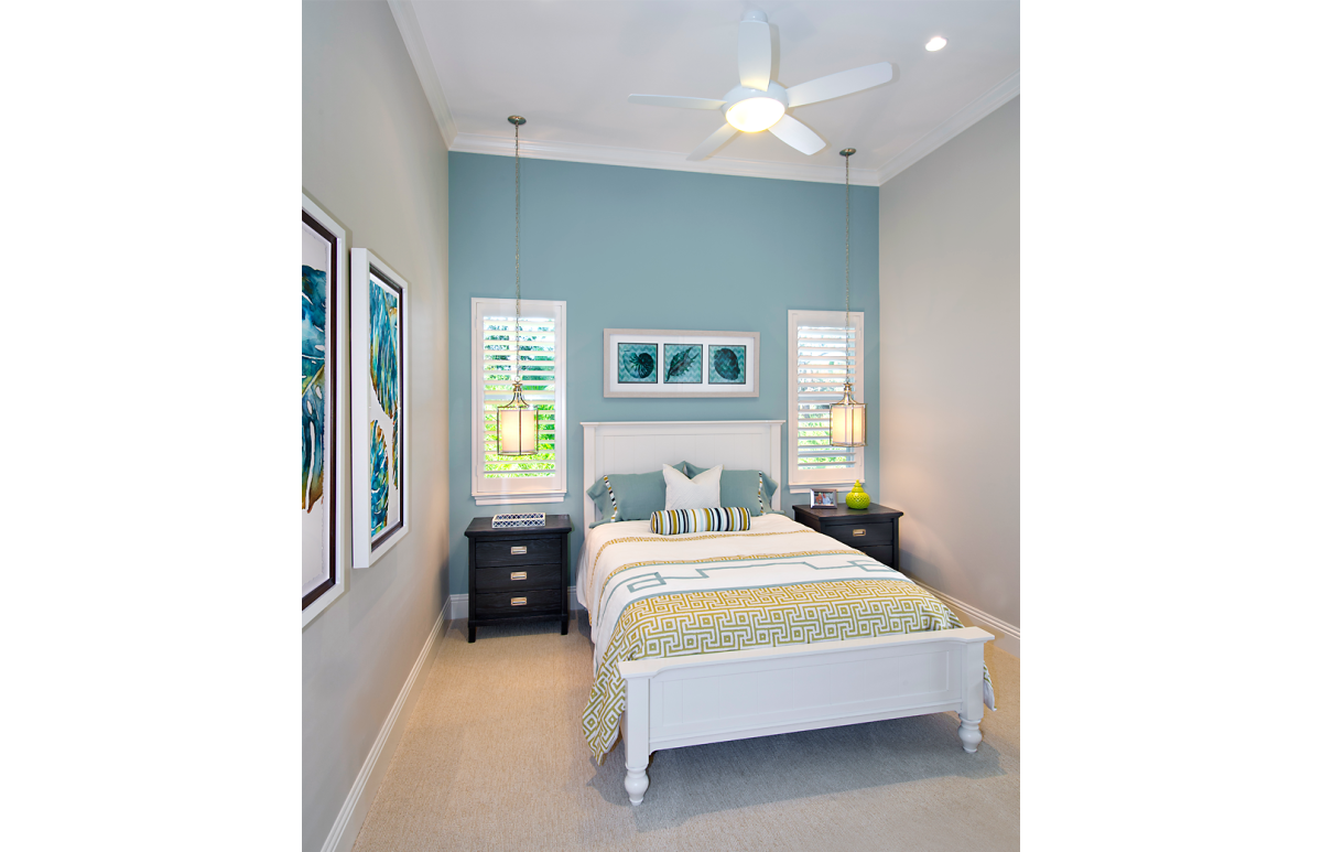 Coastal Couture - Guest Bedroom by Wright Interior Group