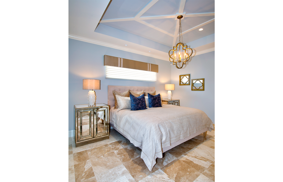 Coastal Couture - Master Bedroom by Wright Interior Group