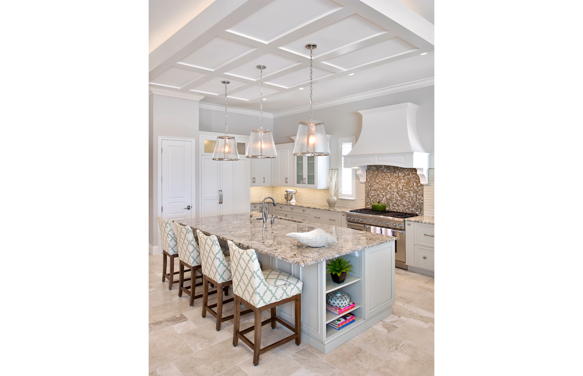 Coastal Couture - Kitchen by Wright Interior Group