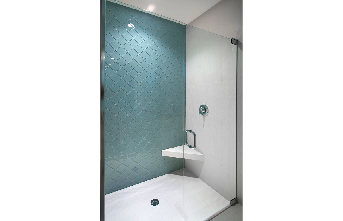 Coastal Couture - Shower by Wright Interior Group