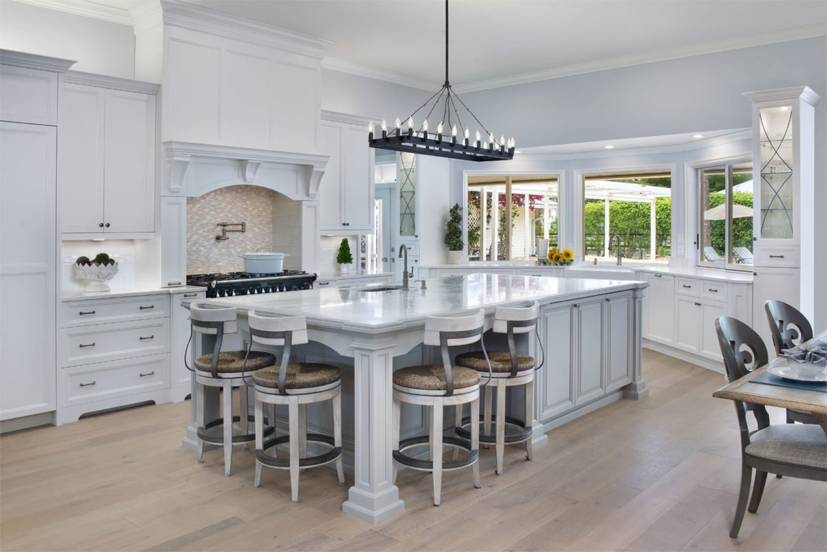 Farmhouse Flair - Kitchen by Wright Interior Group