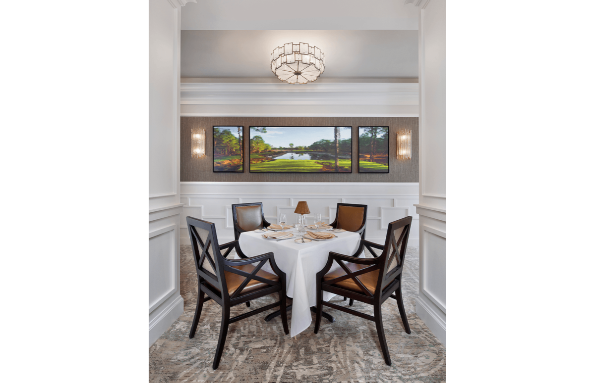 Classic Club - Dining Room