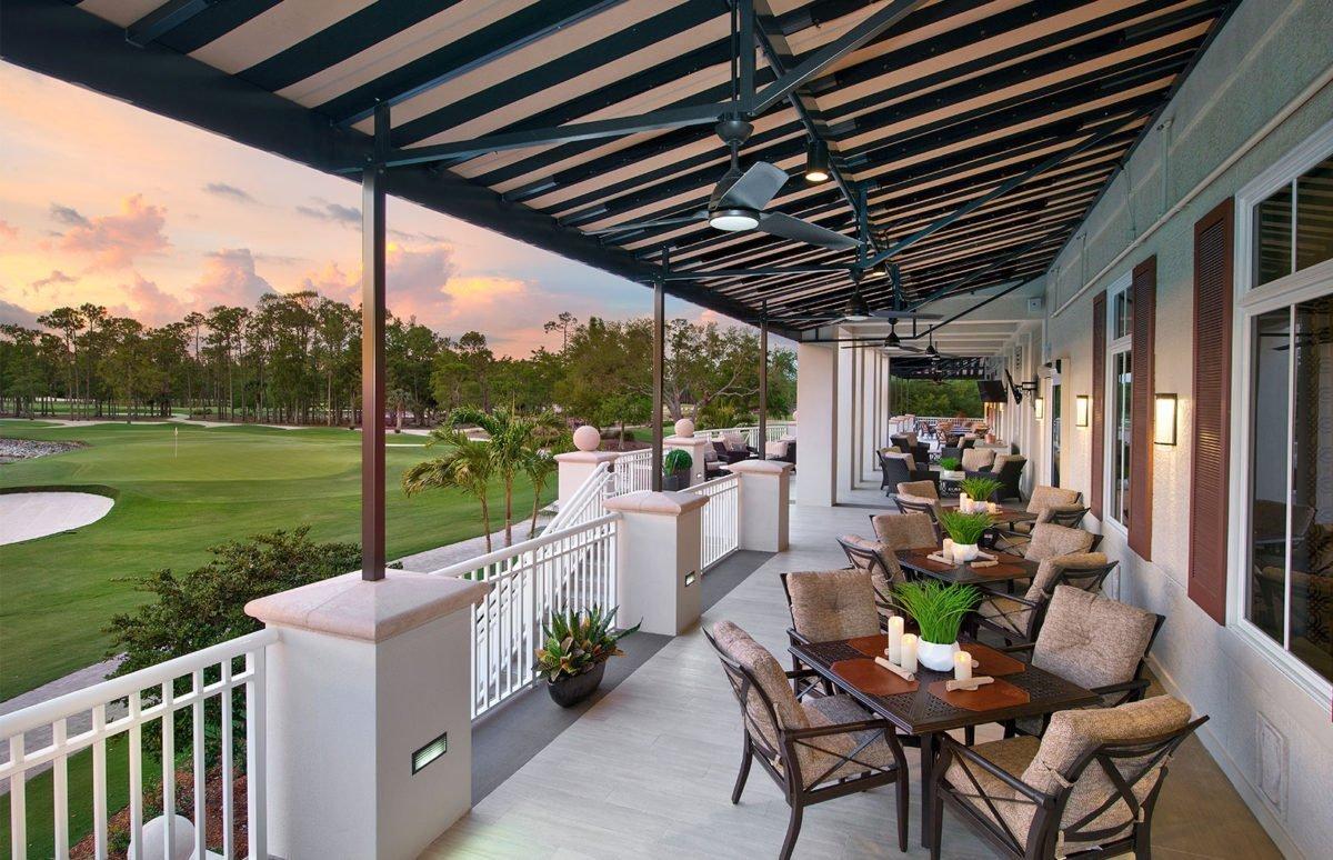 Classic Club - Terrace