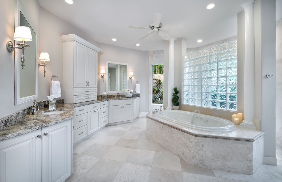 Serene Surrounds - Master Bathroom