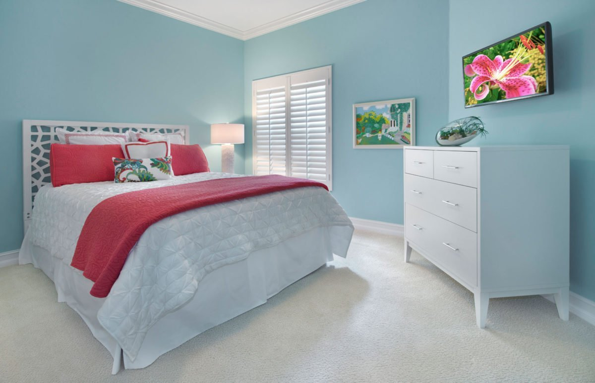 Colorful Contemporary - Guest Bedroom by Wright Interior Group