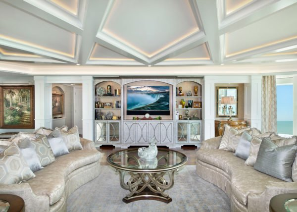 Elegance Refined - Living Room by Wright Interior Group
