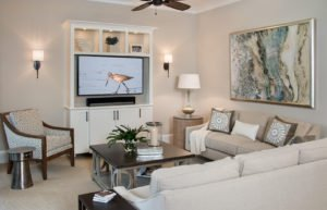 Nod To Nautical - Living Room by Wright Interiors