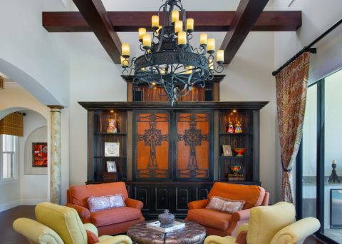 Spanish Sanctuary - Living Room