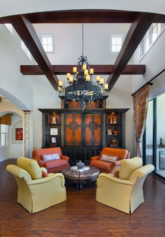 Spanish Sanctuary - Living Room
