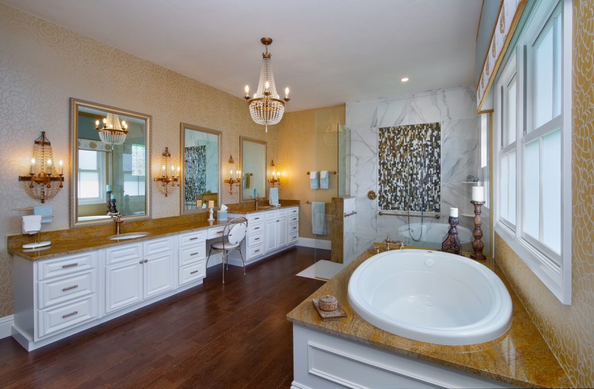 Spanish Sanctuary - Master Bath