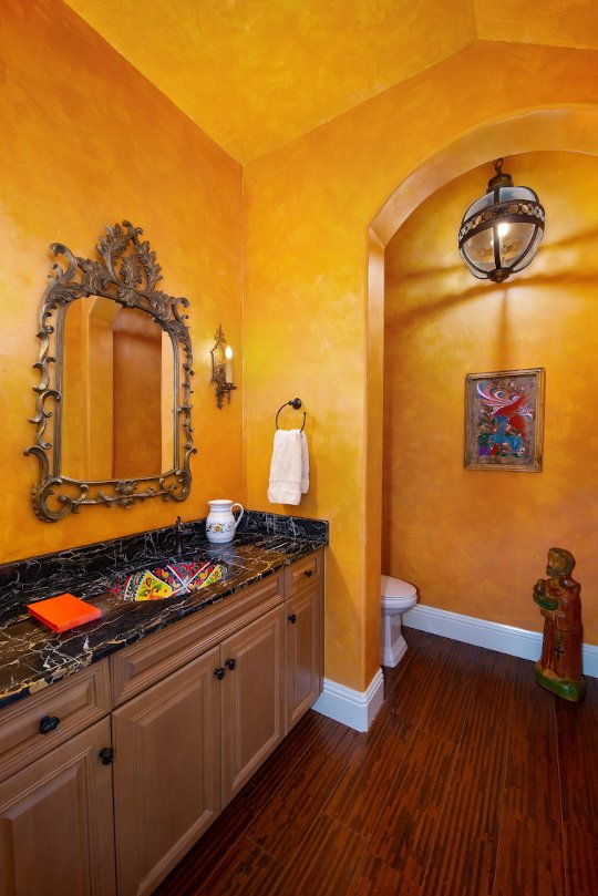 Spanish Sanctuary - Powder Room