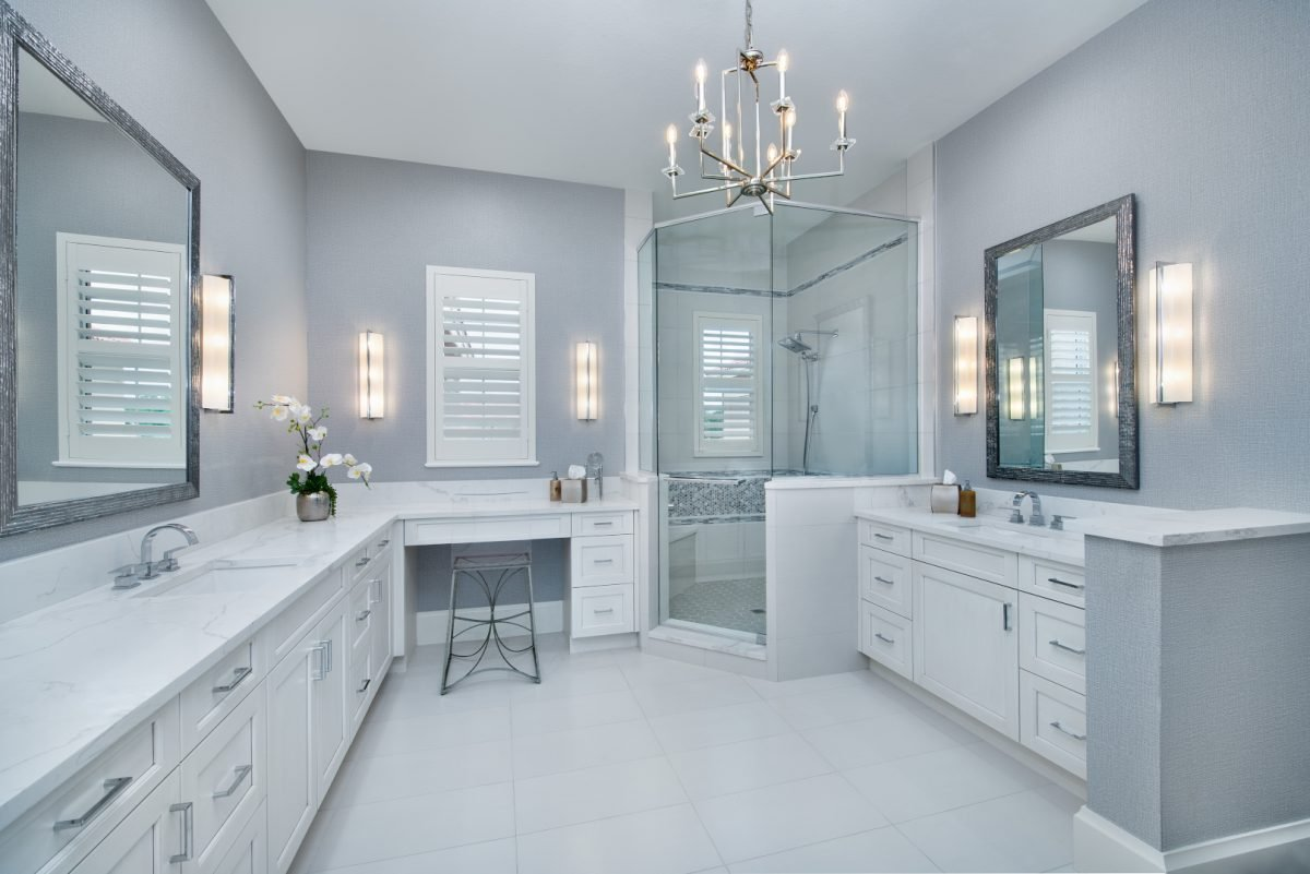 Current Cool - Master Bathroom