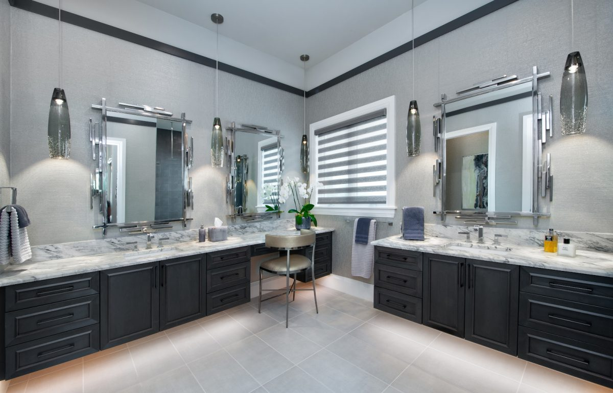 Edgy Environs - Master Bathroom