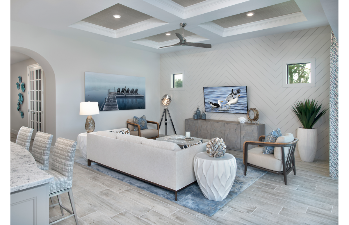 Dimensional Design - Family Room